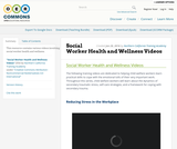 Social Worker Health and Wellness Videos