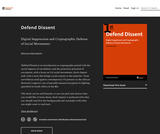Defend Dissent: Digital Suppression and Cryptographic Defense of Social Movements