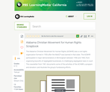 Alabama Christian Movement for Human Rights Scrapbook