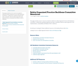 Safety Organized Practice Backbone Committee Resources