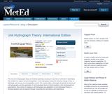 Unit Hydrograph Theory: International Edition