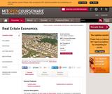 Real Estate Economics, Fall 2008