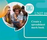Create a Spreadsheet Mark Book