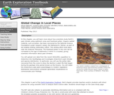 Earth Exploration Toolbook Chapter: Global Change in Local Places