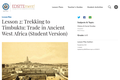 Lesson 2: Trekking to Timbuktu: Trade in Ancient West Africa (Student Version)
