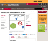"""Introduction to Programming in Java, January IAP 2010"""