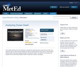 Analyzing Ocean Swell