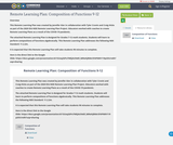 Remote Learning Plan: Composition of Functions 9-12