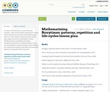 Mathematizing Storytimes: patterns, repetition and life-cycles lesson plan