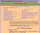 Primer on Quantum Theory of the Atom