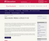 Grade K: Reading Foundations Skills Block: Module 4