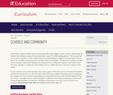 Grade 2: Language Arts: Module 1: Schools and Community
