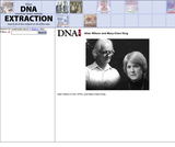 Allan Wilson and Mary-Clare King, still imageSite: DNA Interactive (www.dnai.org)