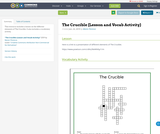 The Crucible (Lesson and Vocab Activity)