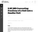 Converting Fractions of a Unit into a Smaller Unit
