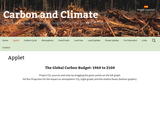 The Global Carbon Budget 1960 - 2100
