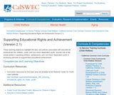 Supporting Educational Rights and Achievement (Version 2.1)