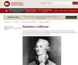 Reading Like a Historian: Hamilton vs. Jefferson