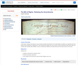 The Bill of Rights: Debating the Amendments