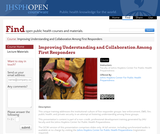 Improving Understanding and Collaboration among First Responders