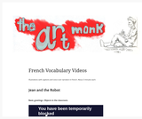 French Vocabulary Videos – The Art Monk