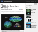1993 Daily Ozone from Meteor-3