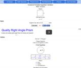 AJ Geometric Formulas Calculator