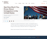 See How Much You Know About Immigration in the United States