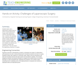 Challenges of Laparoscopic Surgery