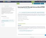 Learning the 4Cs Through Literacy-Based STEM