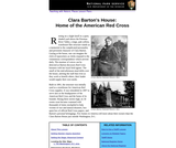 Clara Barton's House: Home of the American Red Cross