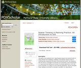 Spatial Thinking in Planning Practice: An Introduction to GIS