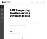 Comparing Fractions with a Different Whole