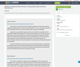 Evidence-Based Intervention Using Open Educational Resources