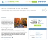 Transportation and the Environment