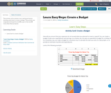 Learn Easy Steps: Create a Budget