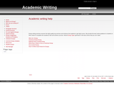 Academic writing help