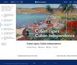 Cuban cigars, Cuban independence