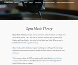 Open Music Theory