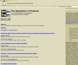 The Opposite(s) of Property: An interdisciplinary investigation of property and its borders