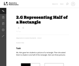Representing Half of a Rectangle