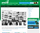 AFSCME, Dr. Martin Luther King Jr. and the 1968 Memphis Sanitation Strike