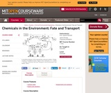 Chemicals in the Environment: Fate and Transport, Fall 2004