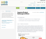 Inquiry Project: Endangered Bees