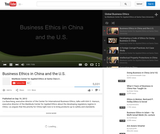 Business Ethics in China and the U.S.