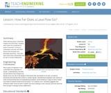 How Far Does a Lava Flow Go?