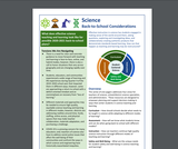 Science Back to School Considerations