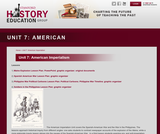 Reading Like a Historian, Unit 7: American Imperialism