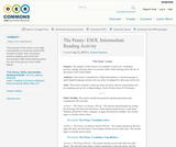 The Penny: ESOL Intermediate Reading Activity