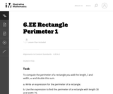 Rectangle Perimeter 1